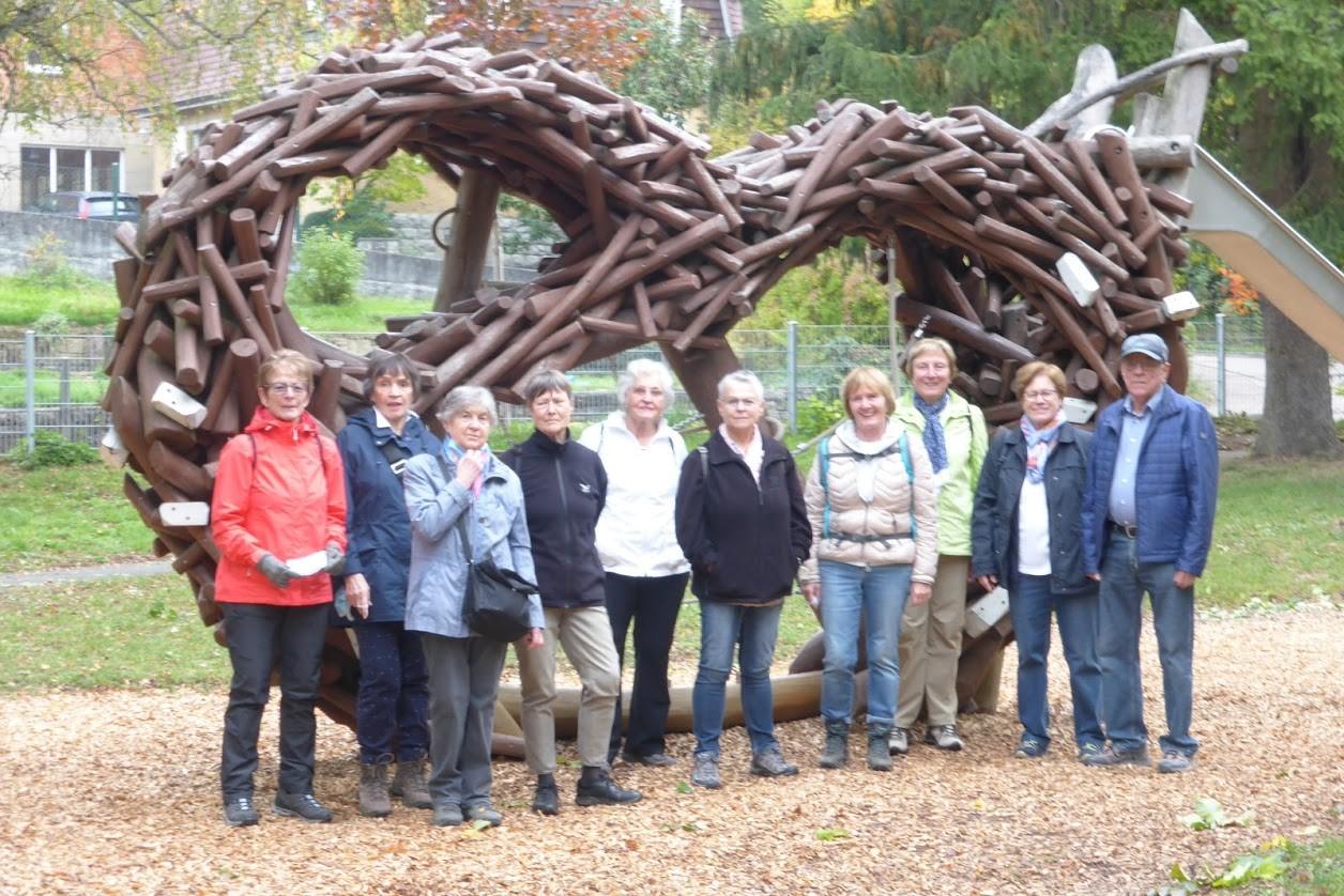 Ausflug zum Brezelmuseum in Erdmannhausen